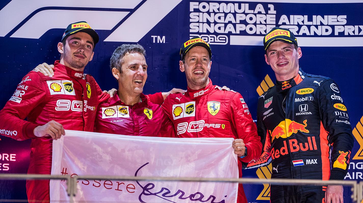 進站時差的全力衝刺助Vettel贏得新加坡GP