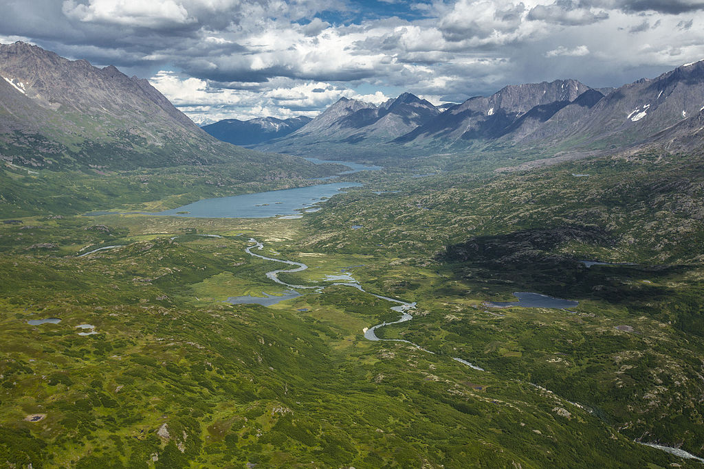 朗格-聖伊利亞斯國家公園暨保護區 (Photo by National Park Service, Alaska Region / Jacob W. Frank, 圖片來源www.flickr.com/photos/alaskanps/21602612322)
