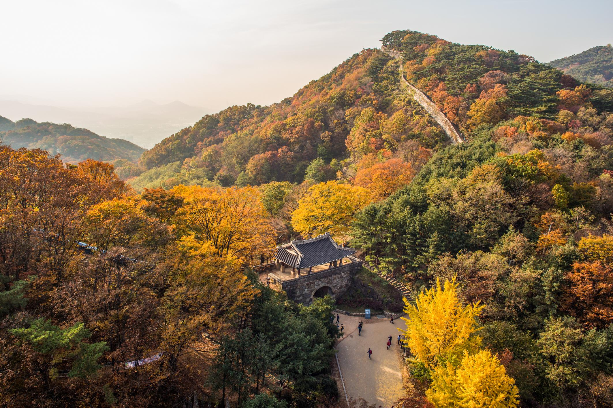 南漢山城(圖/韓國觀光公社)