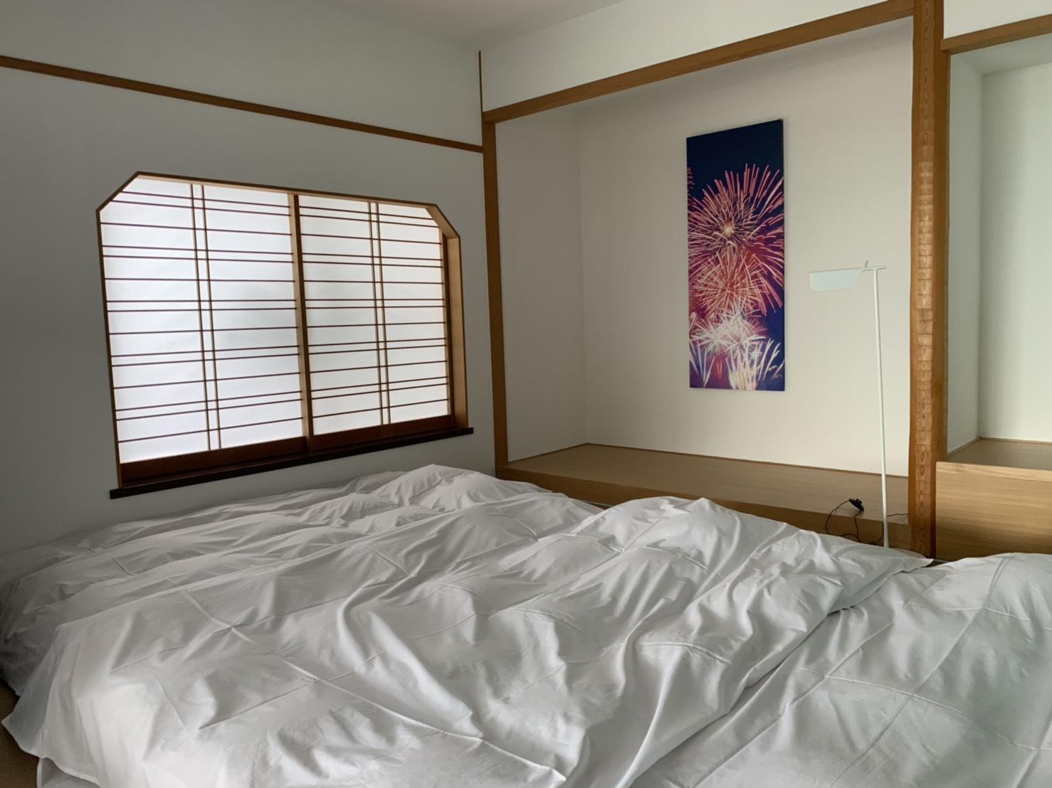 相較於東京的房間,熱海的房間明顯大上許多