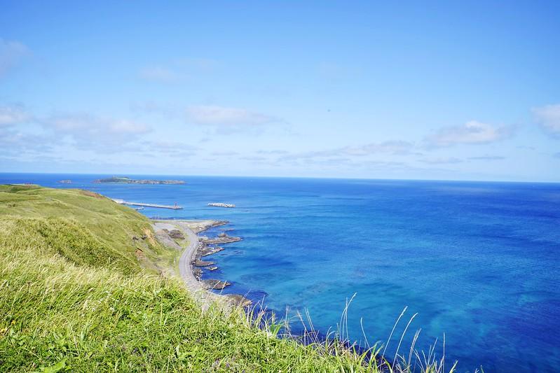 禮文島 澄海岬