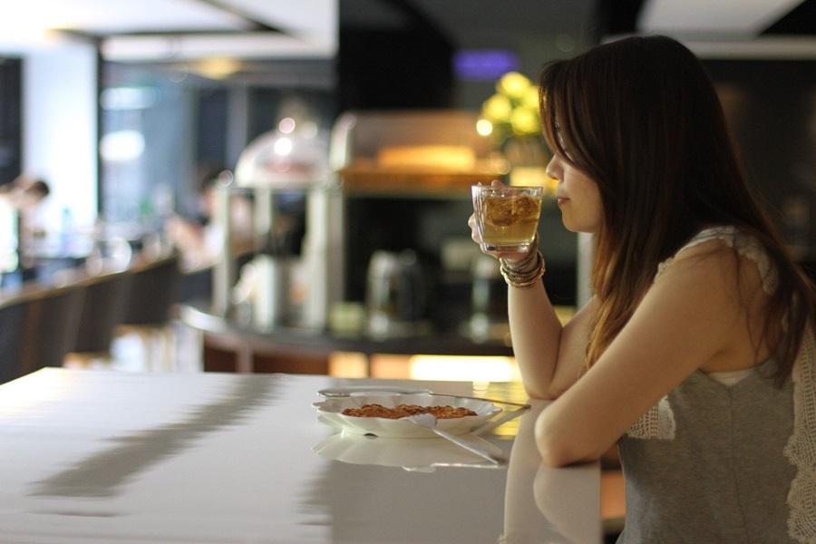 在餐廳度過閒適自在時光。攝影/張晨晟