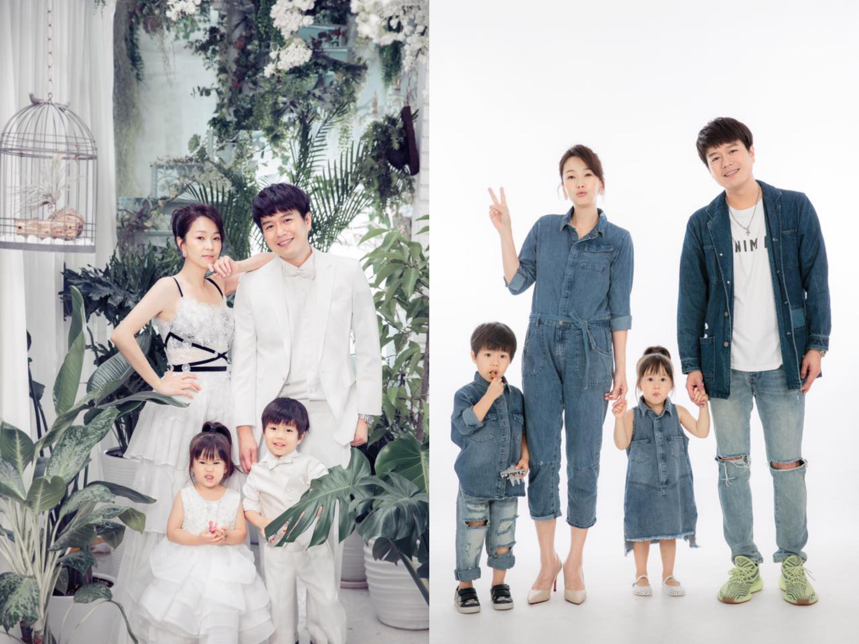 六月+李易夫妻分享親子出遊的時髦穿搭
