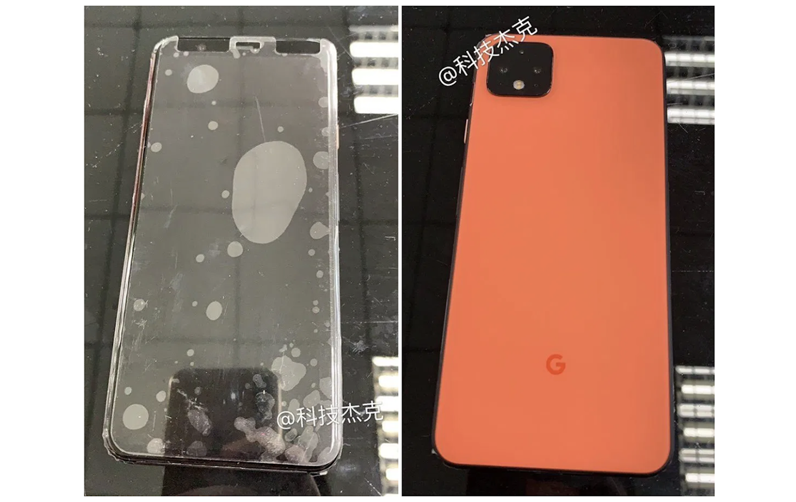 Pixel 4 Coral Orange