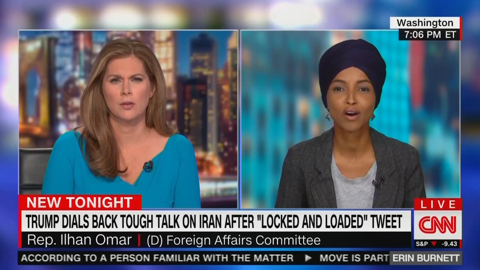 Ilhan Omar doesnt trust Trump administration, warns against another endless war
