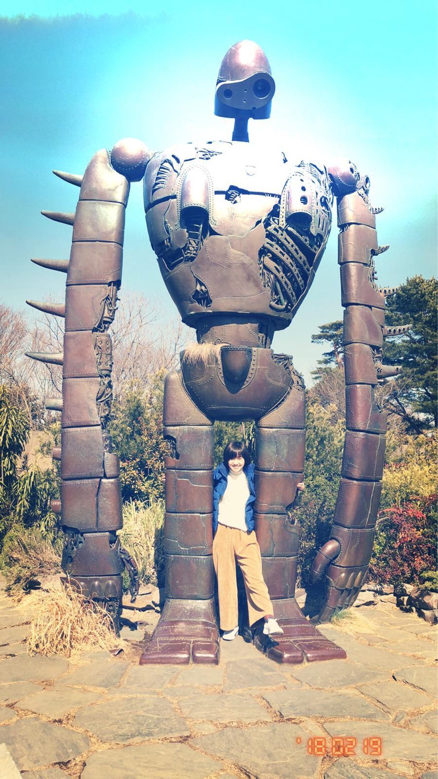▲宮崎駿的吉卜力美術館,讓嚴正嵐印象深刻,覺得非常有趣。