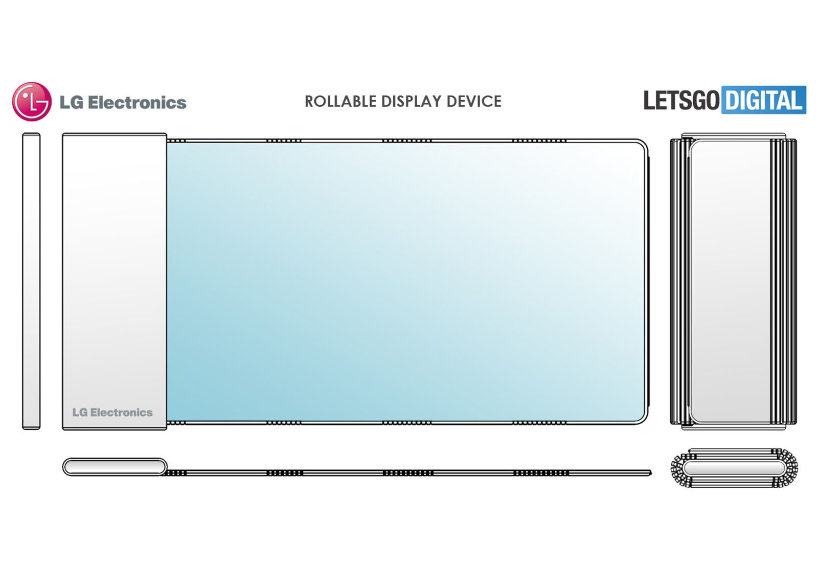 LG Foldablephone Patent