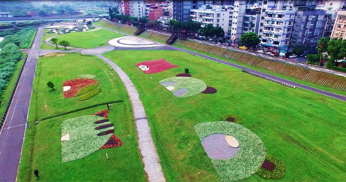 道南河濱公園 (圖片來源:台北市政府工務局)