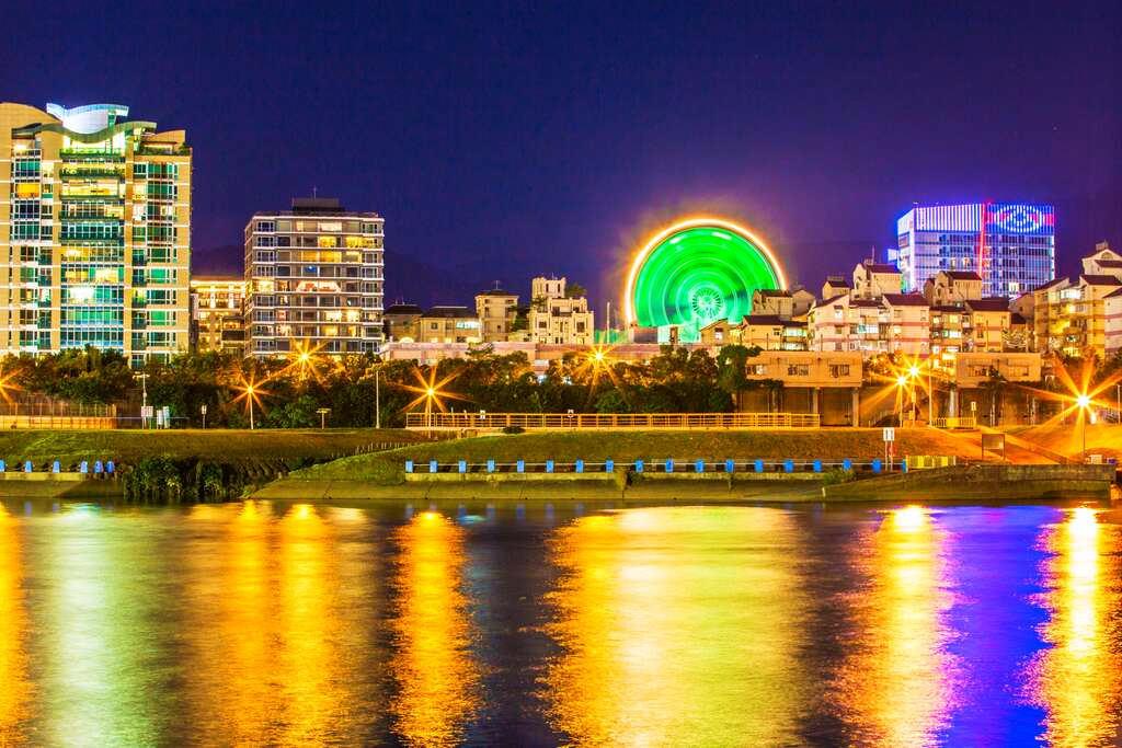美堤河濱公園 (圖片來源:台北旅遊網)