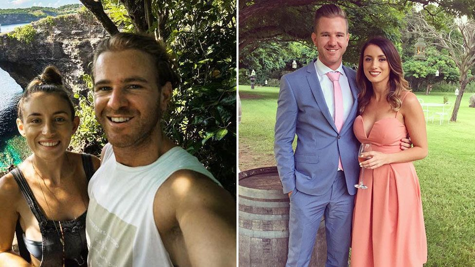 Jolie King and her Australian boyfriend Mark Firkin are being detained after flying a drone in Iran (Instagram)