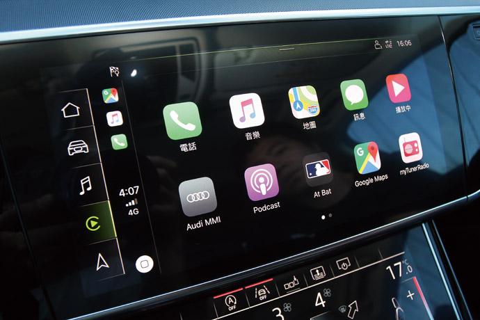 採MMI直覺式觸控手寫板,擁有細膩的觸覺回饋。 版權所有/汽車視界