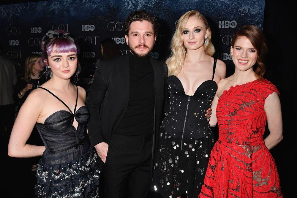 《冰與火之歌》紐約首映資料照片(圖源Yahoo News)