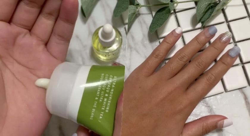 在家做簡單的基礎保養,不能缺少的就是護手霜和指緣油