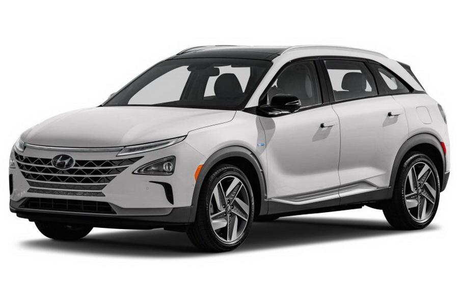 圖/除了2019 Tesla Model 3,Hyundai Nexo也拿到Top Safety Pick+,成為第一輛在IIHS中獲得最佳安全評級的氫燃料電池車。