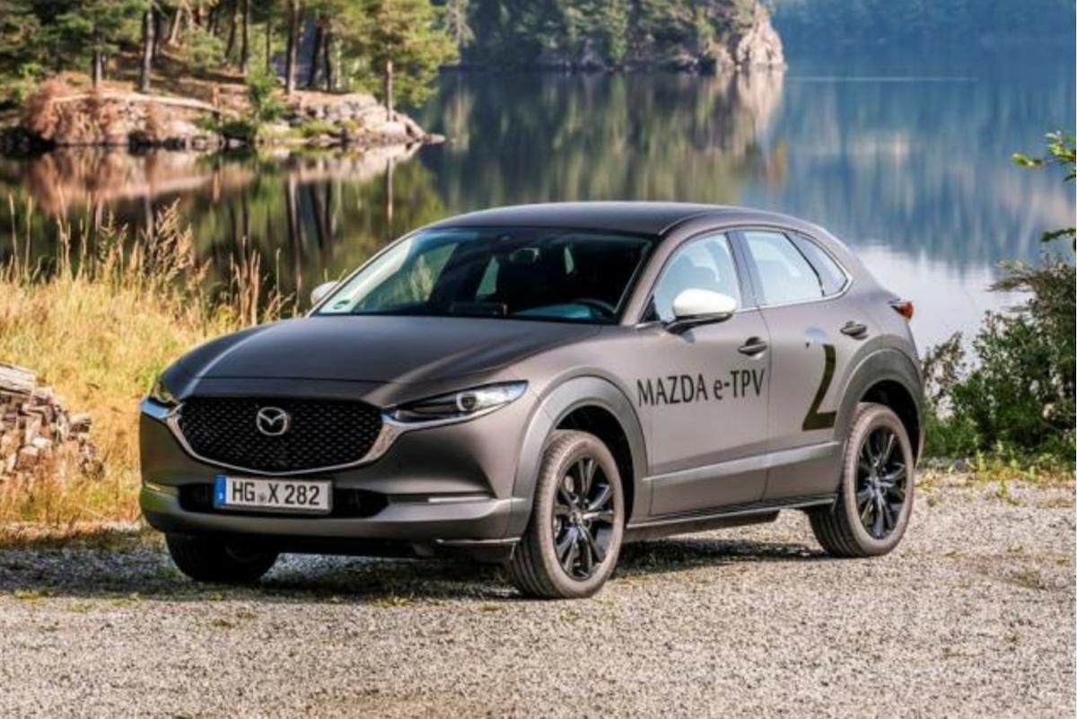 Mazda 首款電動車已經在積極路試,只是目前尚未確定是何種車型。