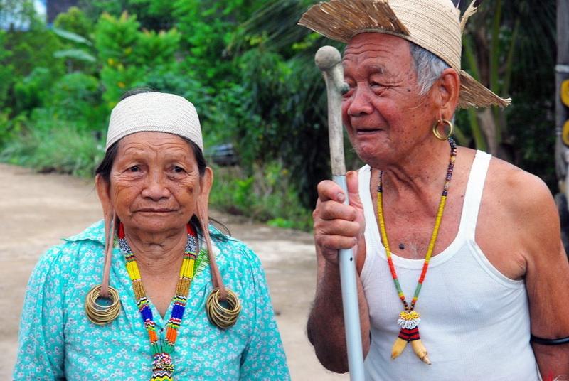 圖/印尼加里曼丹的長耳族是少數民族,也是人類學上一大寶庫。