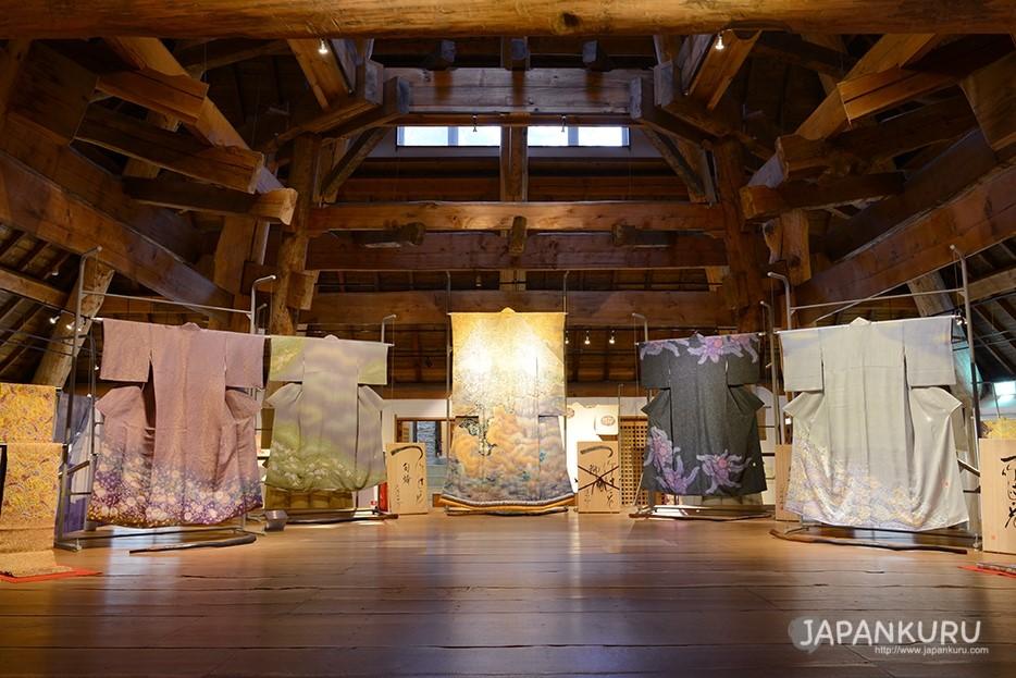 久保田一竹美術館中的展覽
