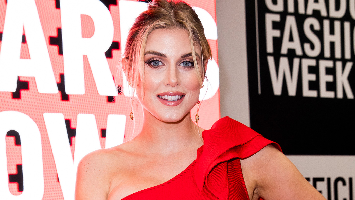 Ashley James on the front row during the Gala Awards Show at Graduate Fashion Week at The Truman Brewery on June 05, 2019 in London, England. (Photo by Tristan Fewings/Getty Images)