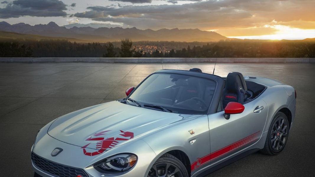 圖/今年逢Abarth創立70周年,加上母集團Fiat建廠120年,為了紀念此重大時刻,Fiat將推出2020年124 Spider專屬的「Scorpion Sting」外觀套件。