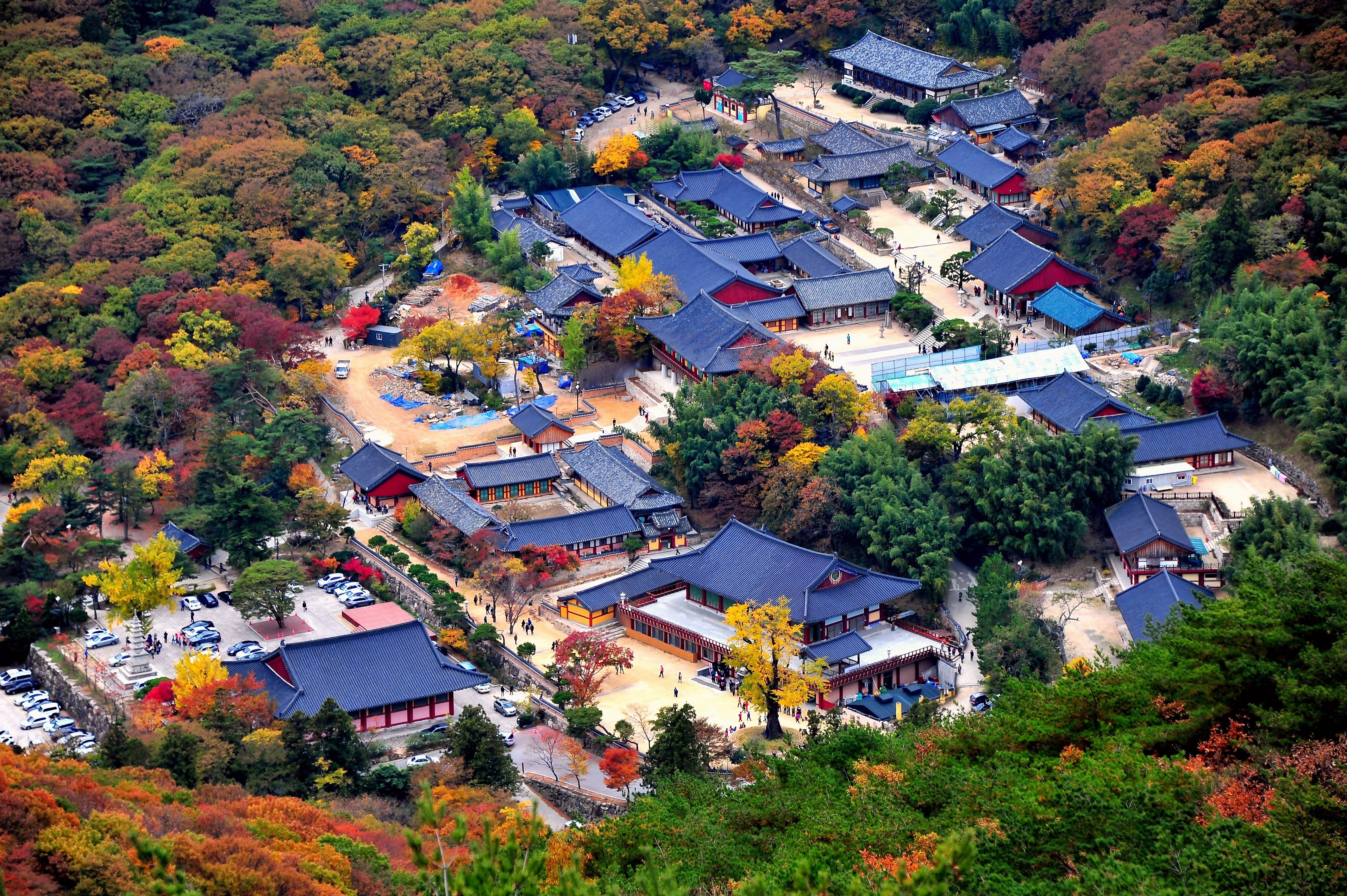 釜山梵魚寺(圖/韓國觀光公社)