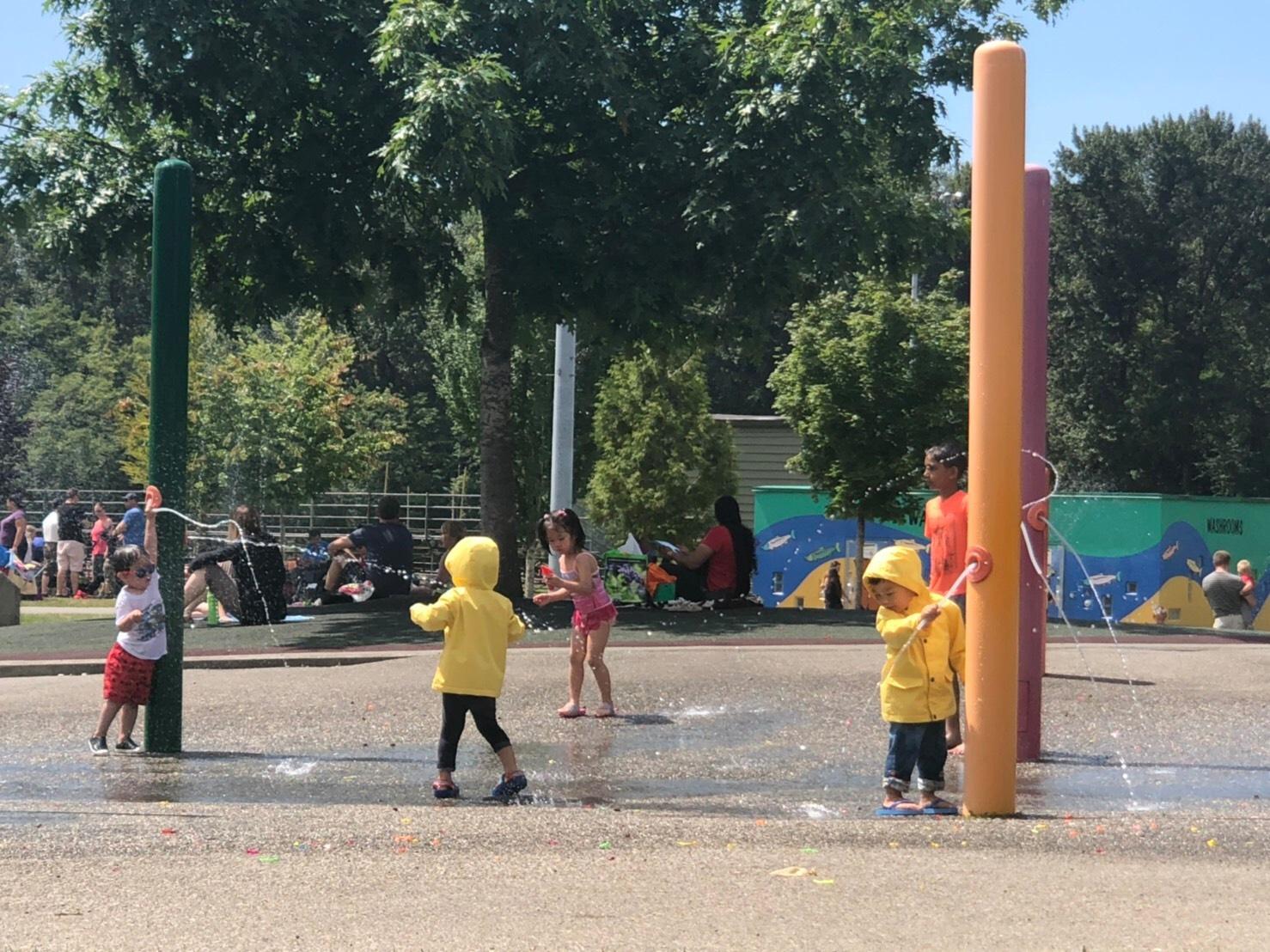 ▲如果要帶孩子去溫哥華玩,李培禎推薦可以去體驗公園裡的設施。