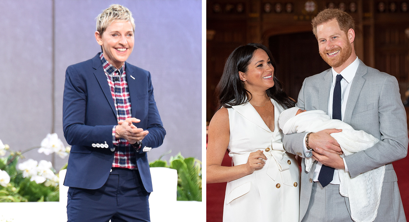 Ellen GeGeneres has opened up about meeting the Duke and Duchess of Sussex's son [Photo: Getty Images]