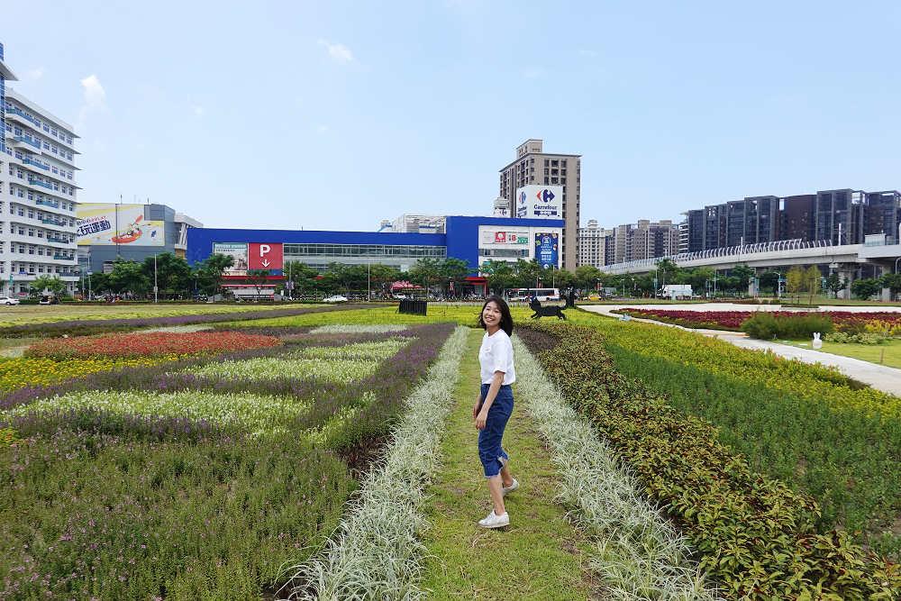 稼日花海是鄰近居民散步休憩的好去處(圖片來源:新北市政府)