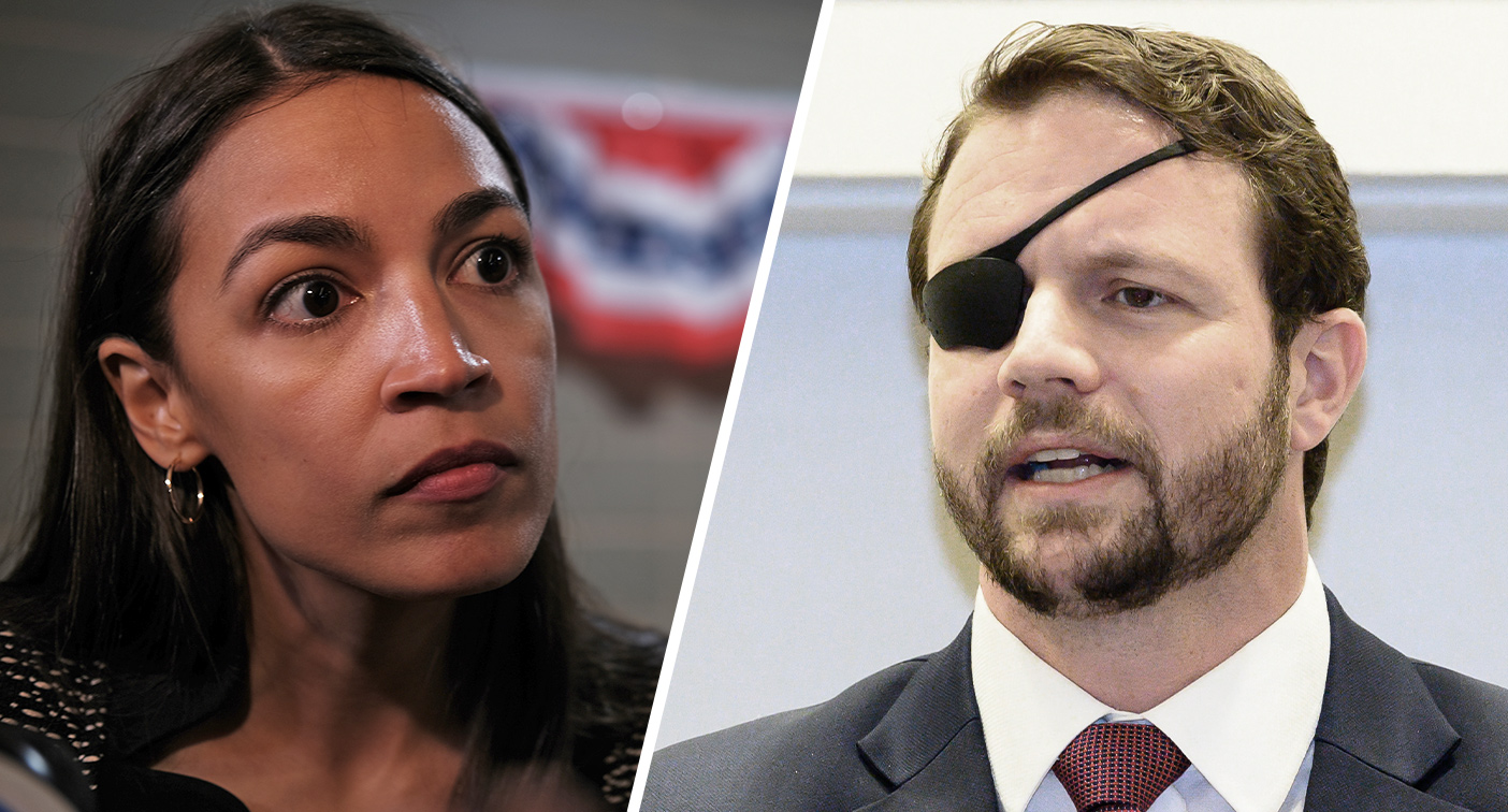 AOC, Texas Rep. Crenshaw duel over background checks: Why are you lending guns to people unsupervised?