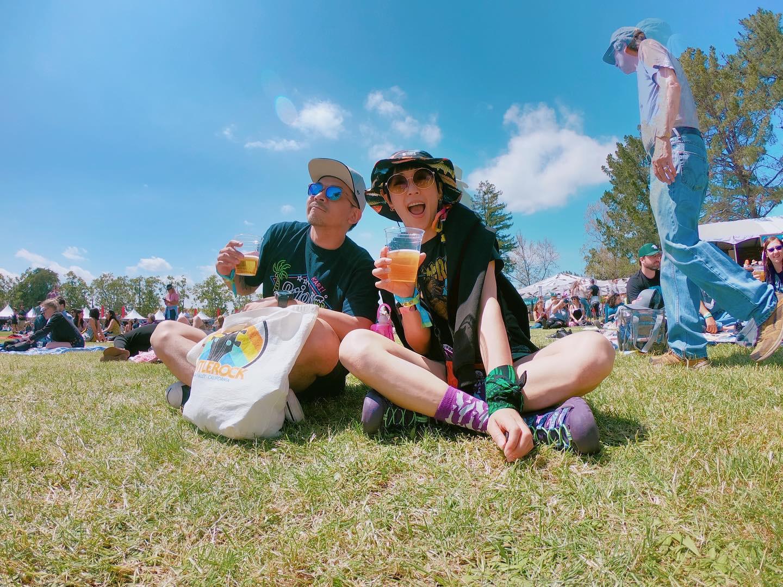▲這次夫妻倆的美西之旅目的Bottle Rock音樂祭,雖然門票價格高,卻讓她們享受音樂帶給他們的收穫。