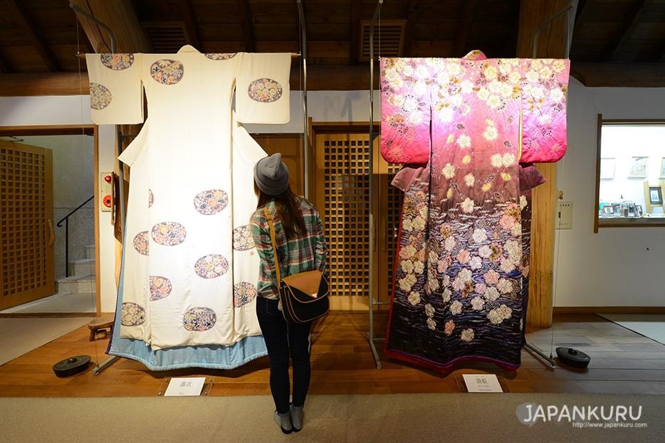 久保田一竹美術館的展覽品