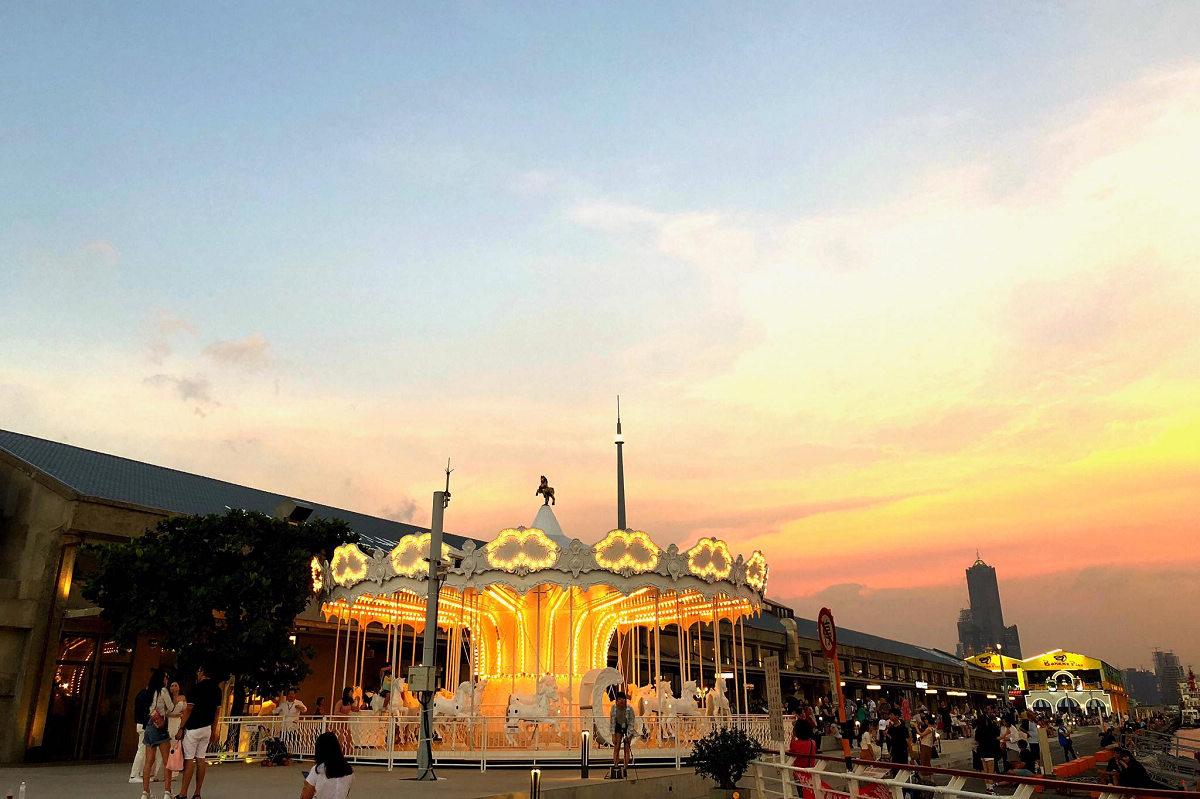 夕陽美景(圖片來源:棧貳庫KW2 FB)