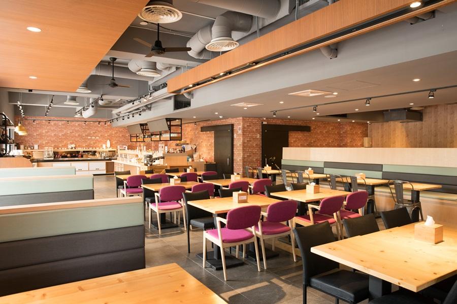 具工業風的環逗咖啡廳。攝影/李文欽