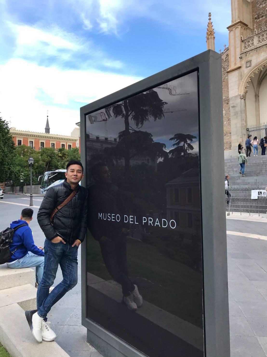 ▲在世界第四大的美術館看哥雅畫風的轉變。