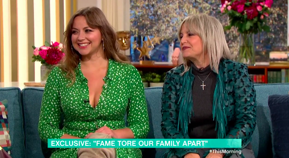 Charlotte Church appeared alongside her mum Maria on This Morning. (ITV)