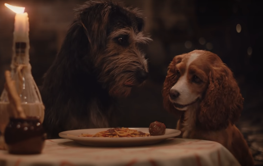 Lady and the Tramp (Credit: Disney)