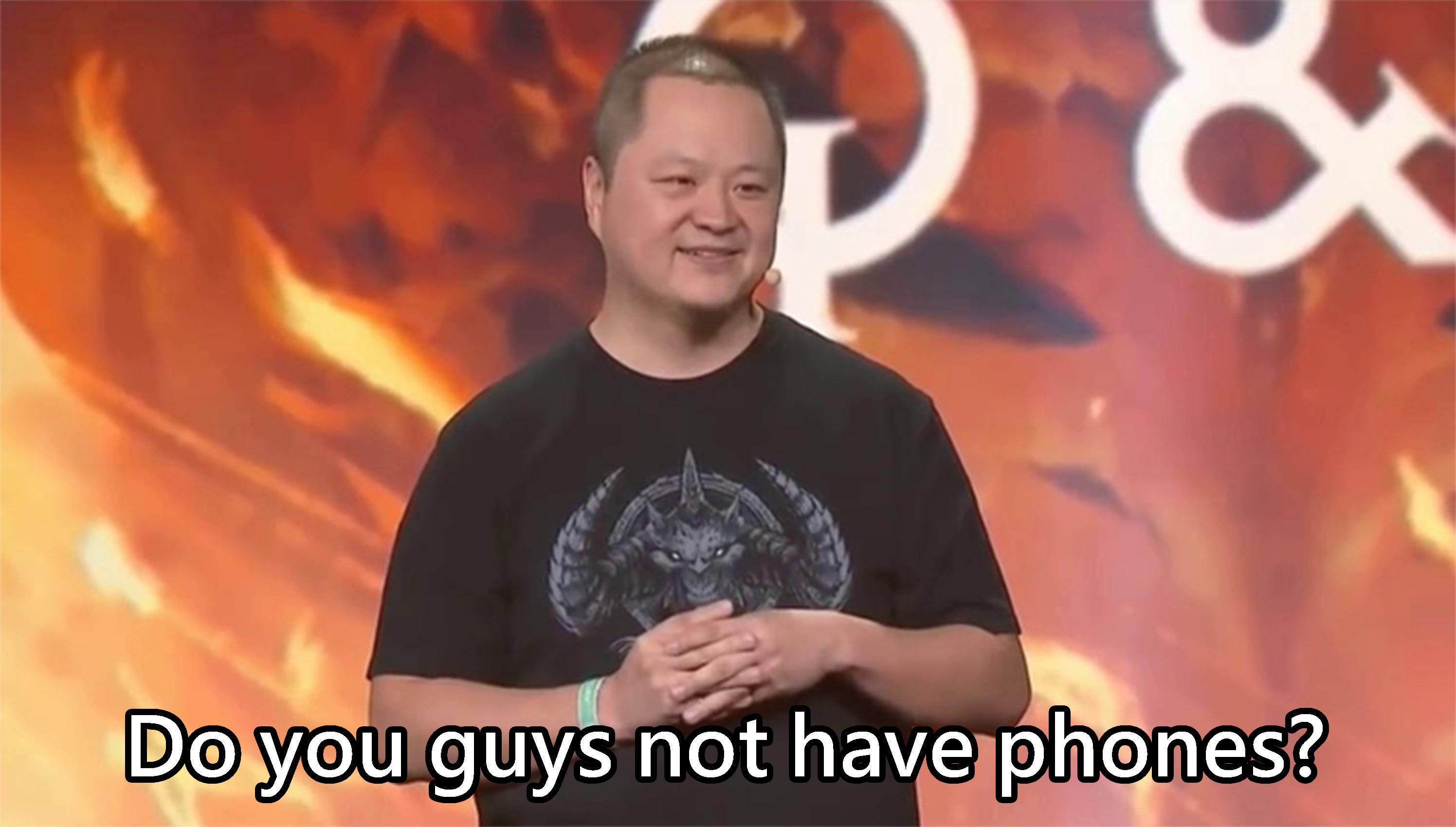 去年在全球最大的 PC 遊戲盛會中壓軸,表示不會開發 PC 版,玩家能不憤怒嗎。(圖源:BlizzCon2018)