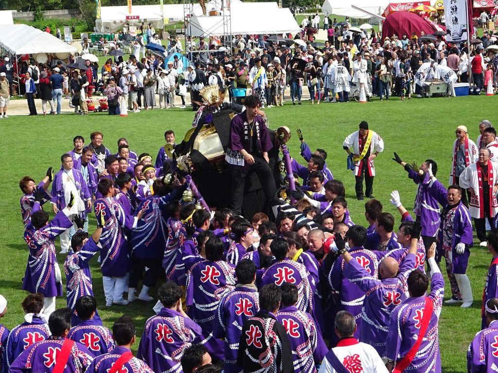 北小唐人大神轎(圖片來源:台北旅遊網)