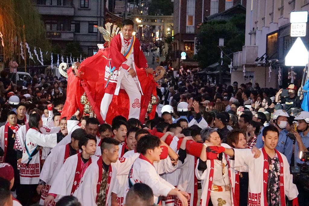 小唐人大神轎(圖片來源:台北旅遊網)