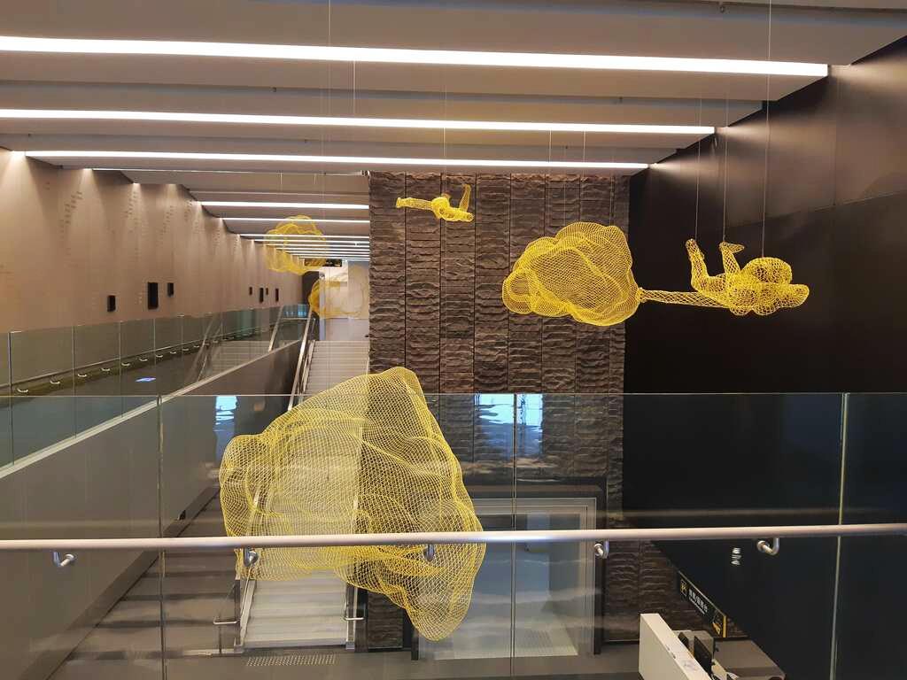 館內設置一個特展廳與四個常設展廳(圖片來源:台南旅遊網)