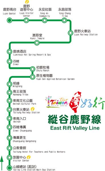 資料來源:台東休閒旅遊網-鼎東山線客運部