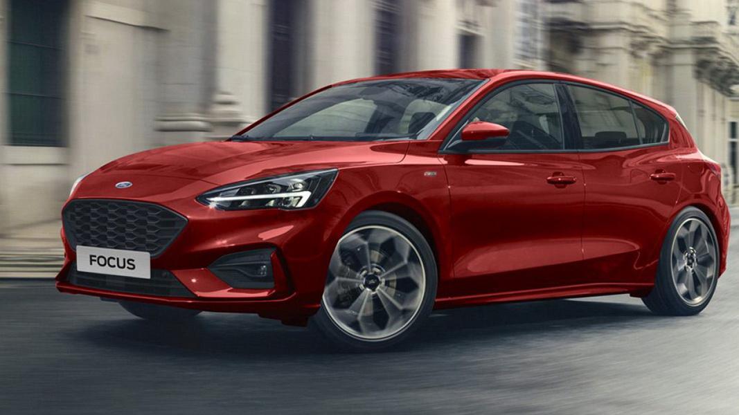 圖/2019 Ford Focus 5D ST-Line採用的EcoBoost 182三缸渦輪增壓汽油引擎