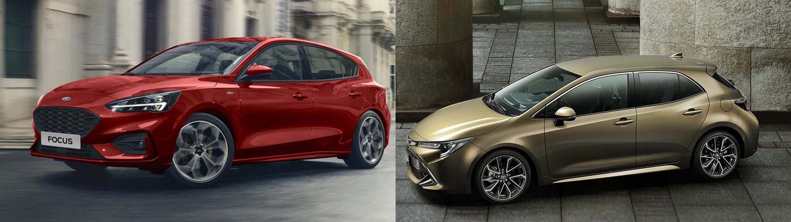 圖/2019 Ford Focus 5D ST-Line與2020 Toyota Auris 2.0旗艦版之土洋五門掀背大比拼。