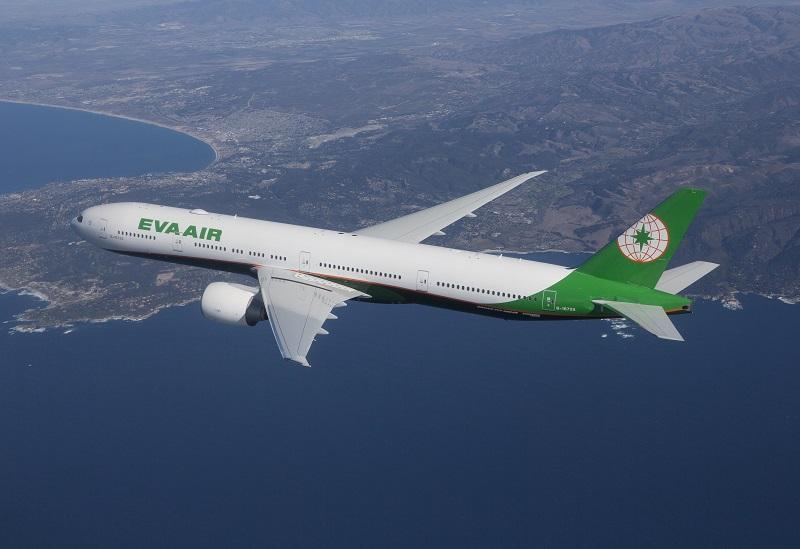 長榮航空以777-300ER機型飛航台北—米蘭航線。(圖/長榮航空)