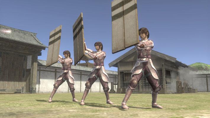 ▲「護衛兵」、「妖術櫓」加入,衍生出攻城、防衛新攻略戰術!