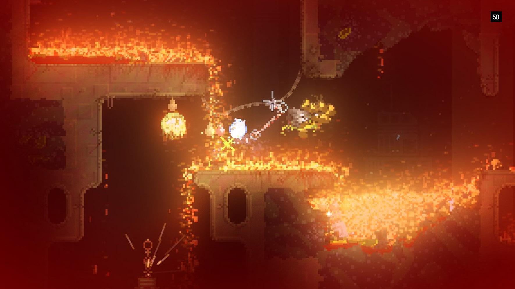 這種情況沒有火焰免疫,就只能等死了。