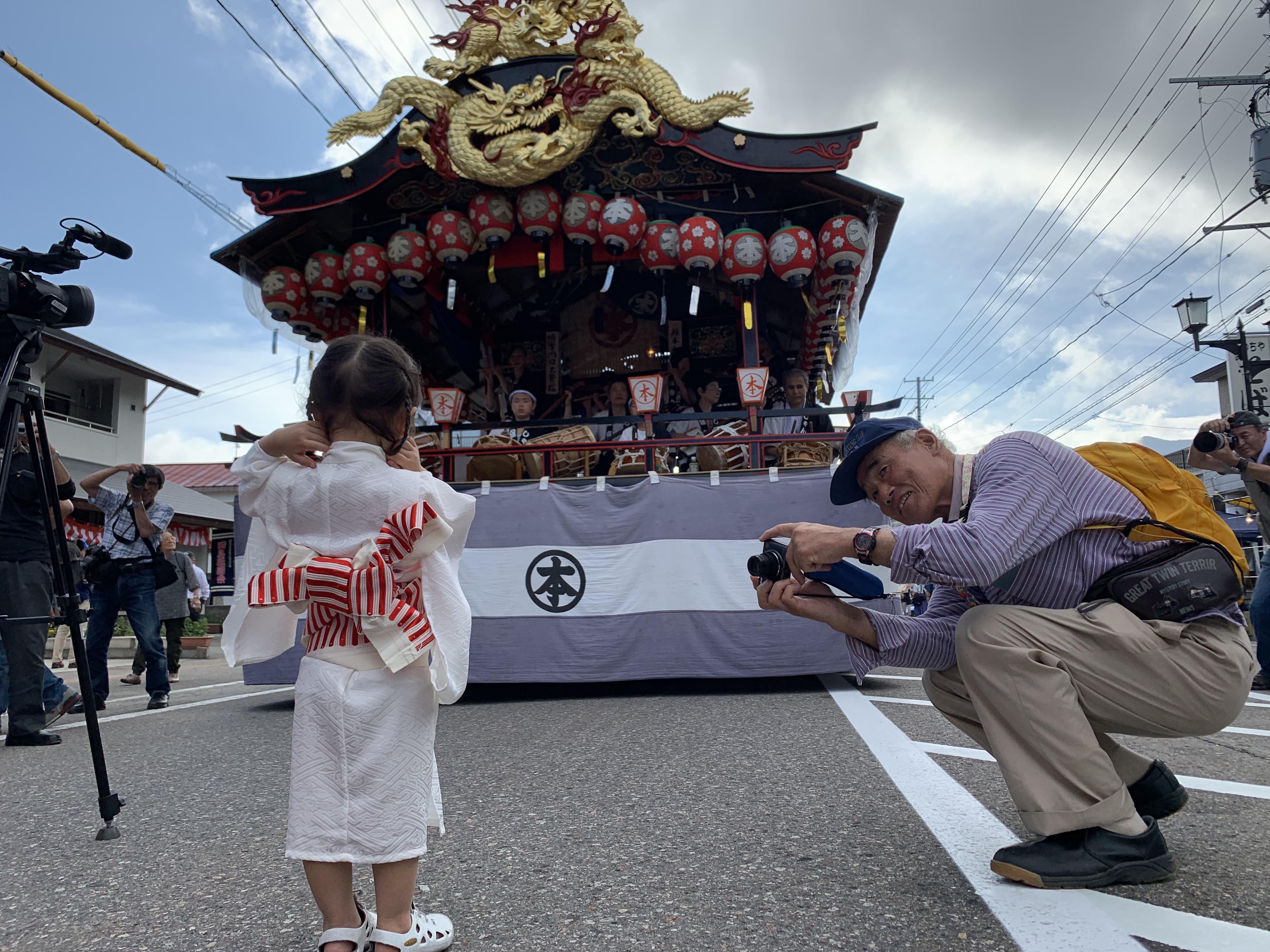 「會津田島祇園祭」充滿純樸氣息。