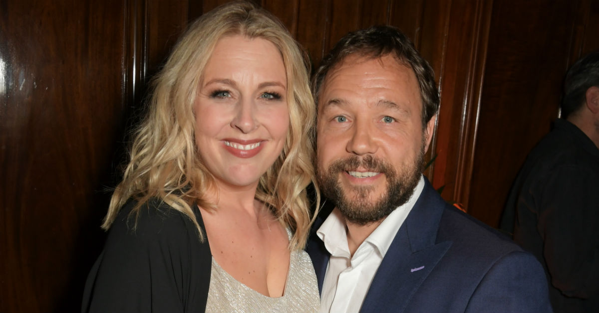 Stephen Graham's wife Hannah Walters helps him to choose roles (Getty)
