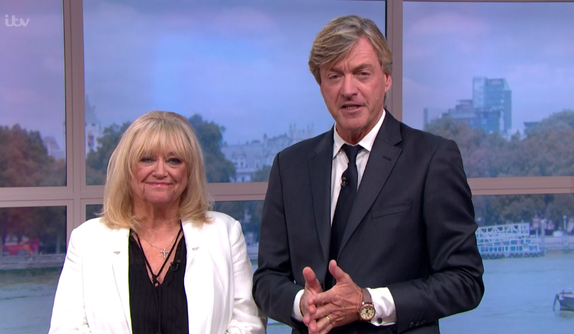 Richard Madeley and Judy Finnigan returned to host This Morning. (ITV)