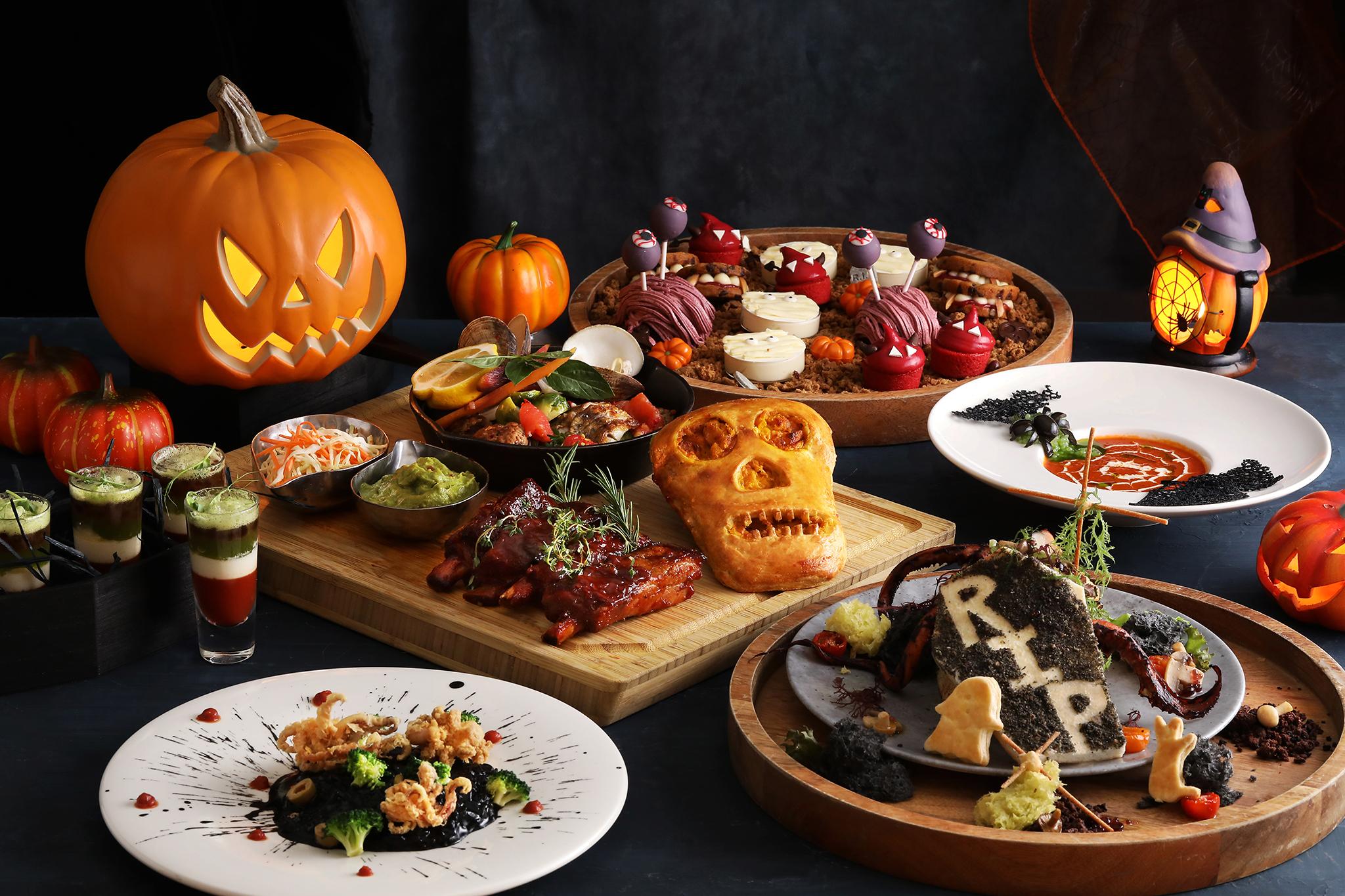 萬聖節派對特搜5家暗黑系餐廳 眼球巧克力、人腦蛋糕、幽靈餅乾、蝙蝠湯、墓碑奶酥就是要搞怪