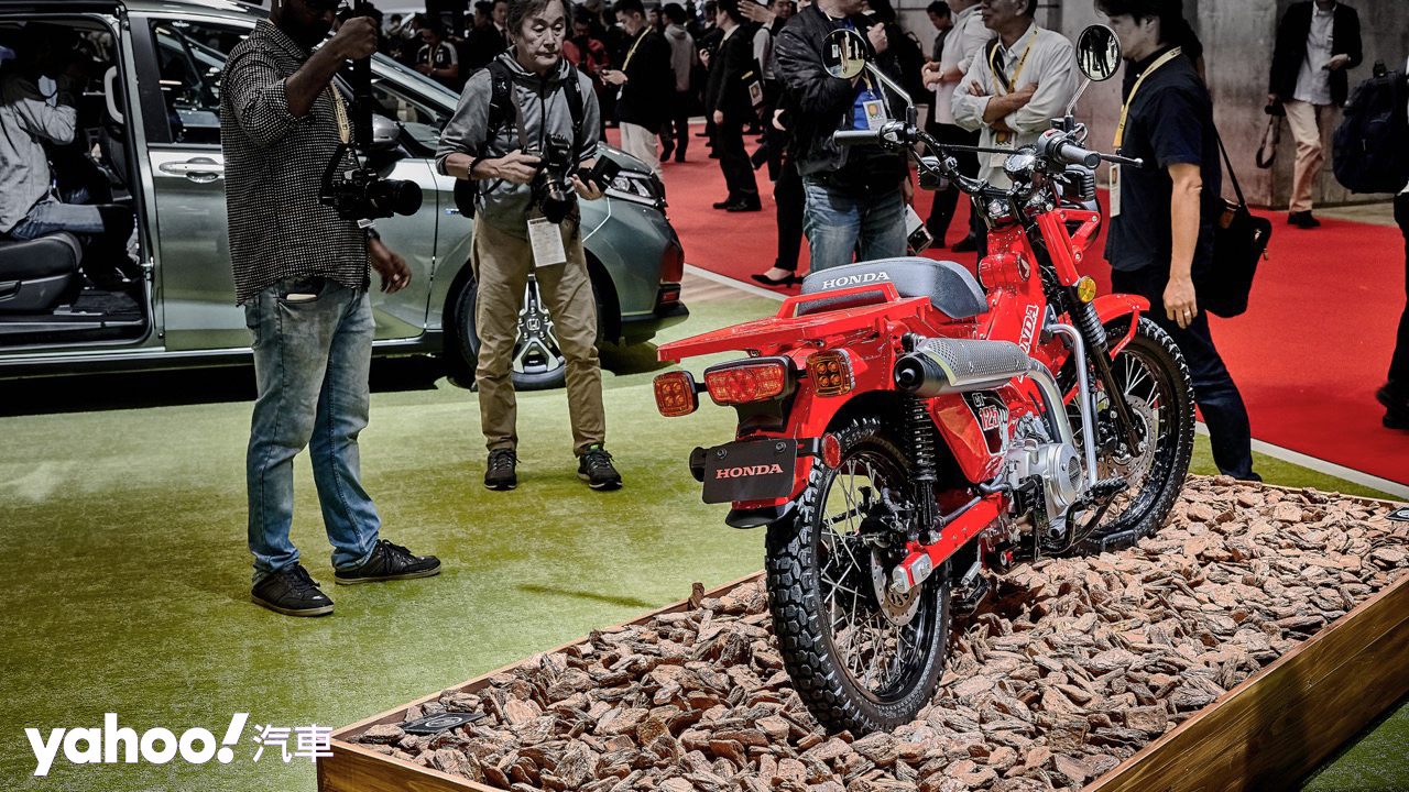 【東京車展】超Scrambler風格復刻獵狼!Honda CT125概念車再現江湖!